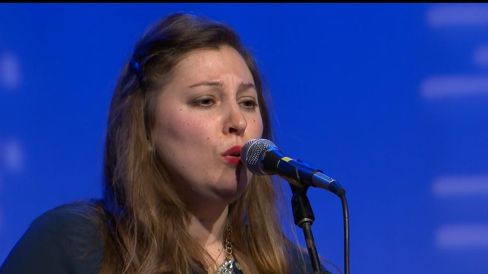 Sarah Mac Band Performs at Gradstock Concert image