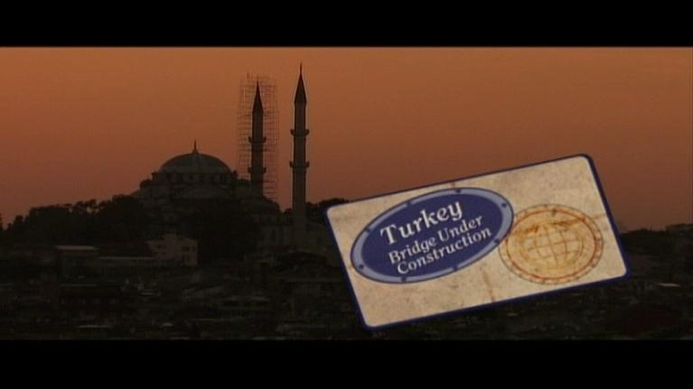 Judy O'Bannon's Foreign Exchange   : Turkey: Bridge Under Construction