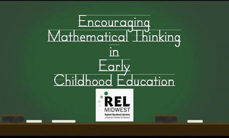 Encouraging Mathematical Thinking