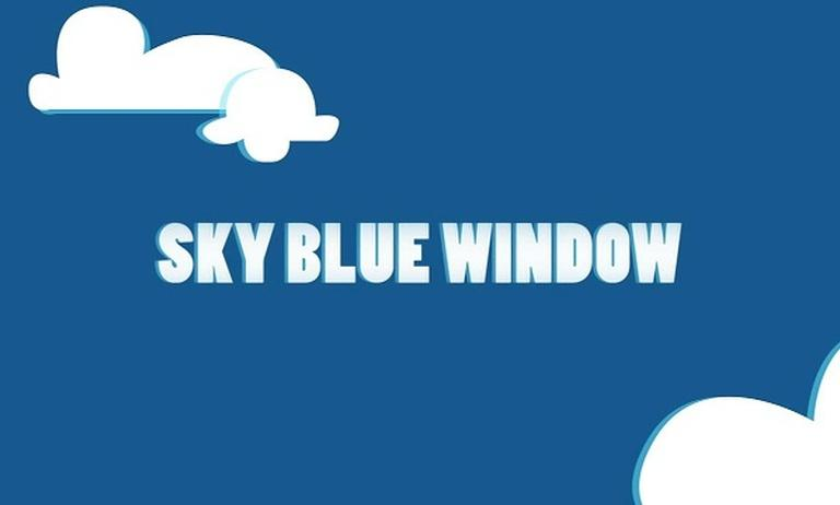 Sky Blue Window