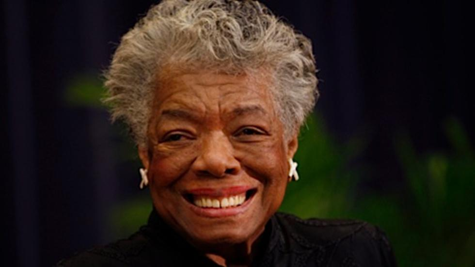 Maya Angelou...and literary lyricism image