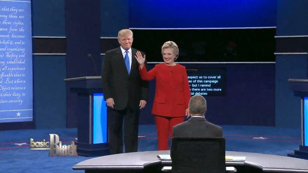 Review of the First Presidential Debate image