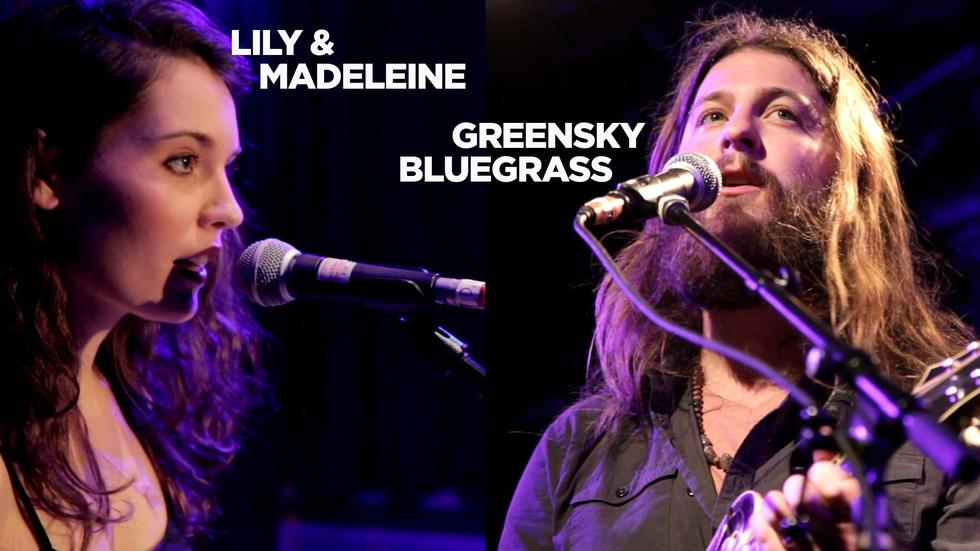 Lily and Madeleine / Greensky Bluegrass: Live in Concert image