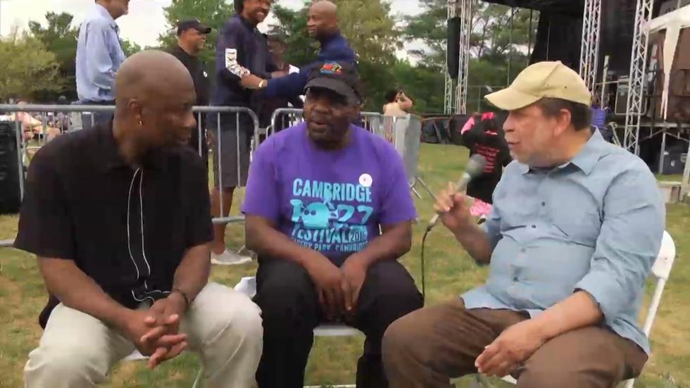 Eric Jackson Talks with Cambridge Jazz Festival Founders image