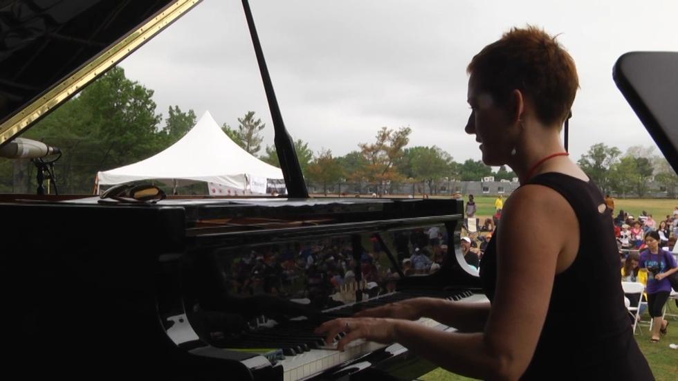 Rebecca Cline at Cambridge Jazz Festival 2016 image