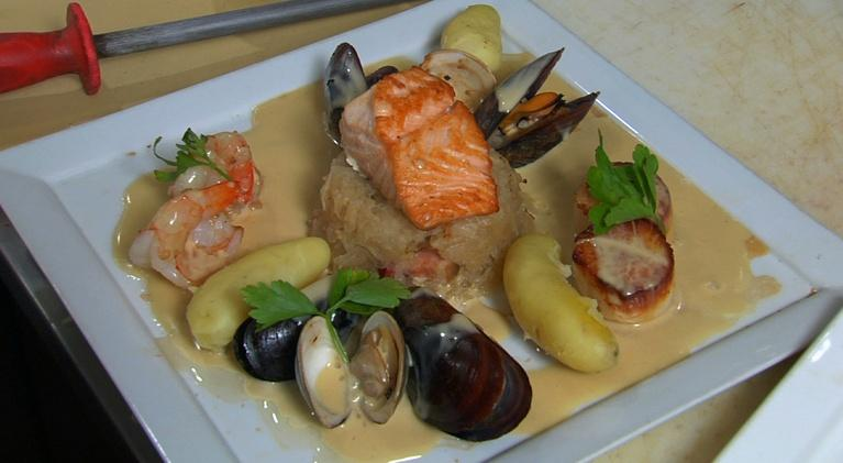 Neighborhood Kitchens : Neighborhood Kitchens: Sandrine's Choucroute