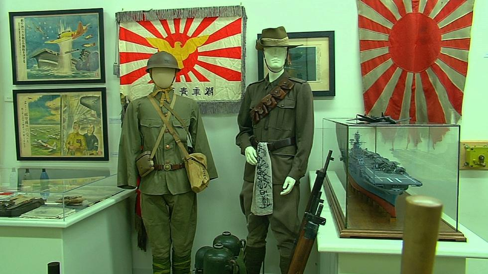 """Museum of World War II and """"In the Wake"""" image"""