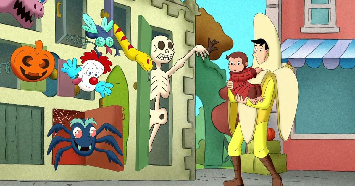 curious george a halloween boo fest wgbh pbs