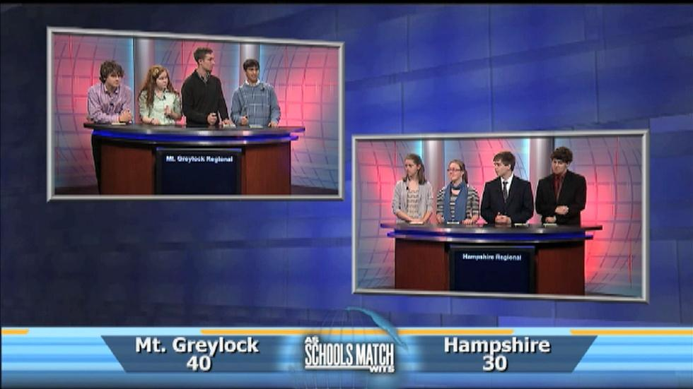 As Schools Match Wits: Mt. Greylock vs Hampshire Regional image