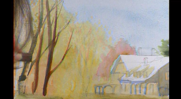 Reflections Through Watercolor: William Cullen Bryant Homestead