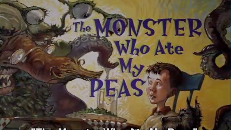 Georgia Read More: The Monster Who Ate My Peas (English subs)