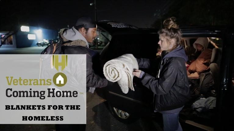 Hampton Roads Veterans Coming Home: Veterans Coming Home: Blankets For The Homeless