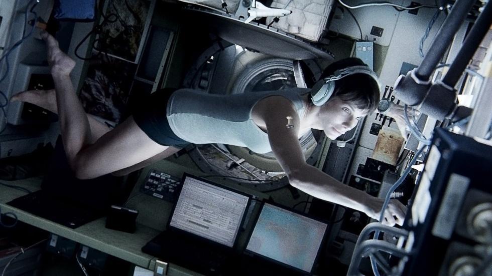 "Sandra Bullock for ""Gravity"" image"