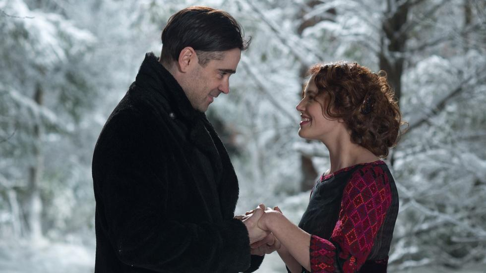 "Colin Farrell & Jessica Brown Findley: ""The Winter's Tale"" image"