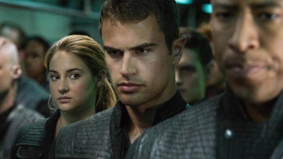 "Shailene Woodley & Theo James for ""Divergent"" image"