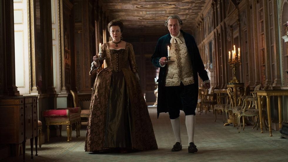 "Tom Wilkinson & Penelope Wilton for ""Belle"" image"