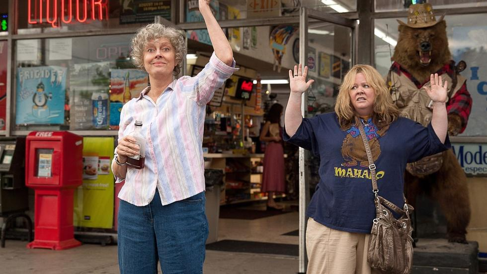 "Melissa McCarthy and Susan Sarandon for ""Tammy"" image"