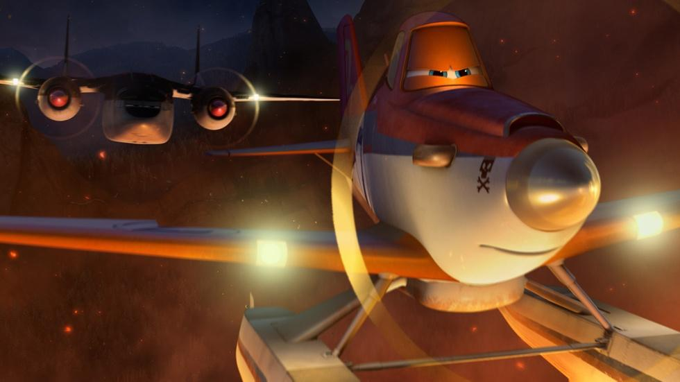 "Dane Cook & Julie Bowen for ""Planes: Fire and Rescue"" image"