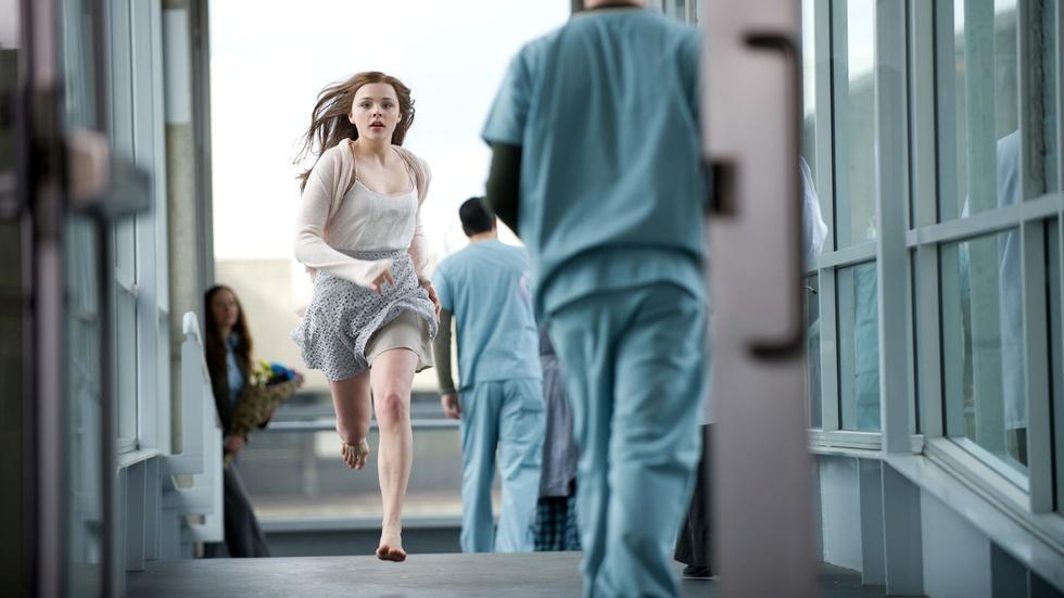 "Chloe Grace Moretz & Jamie Blakeley for ""If I Stay"" image"