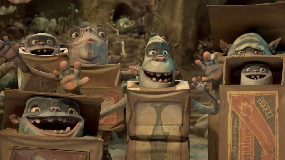 "Sir Ben Kingsley for ""The Boxtrolls"" image"