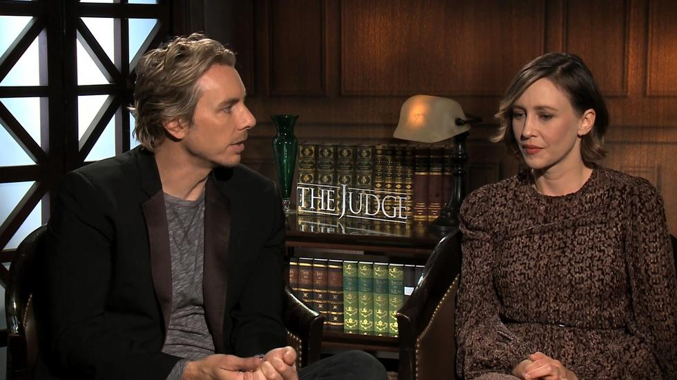 "Vera Farmiga and Dax Shepard for the ""The Judge"" image"