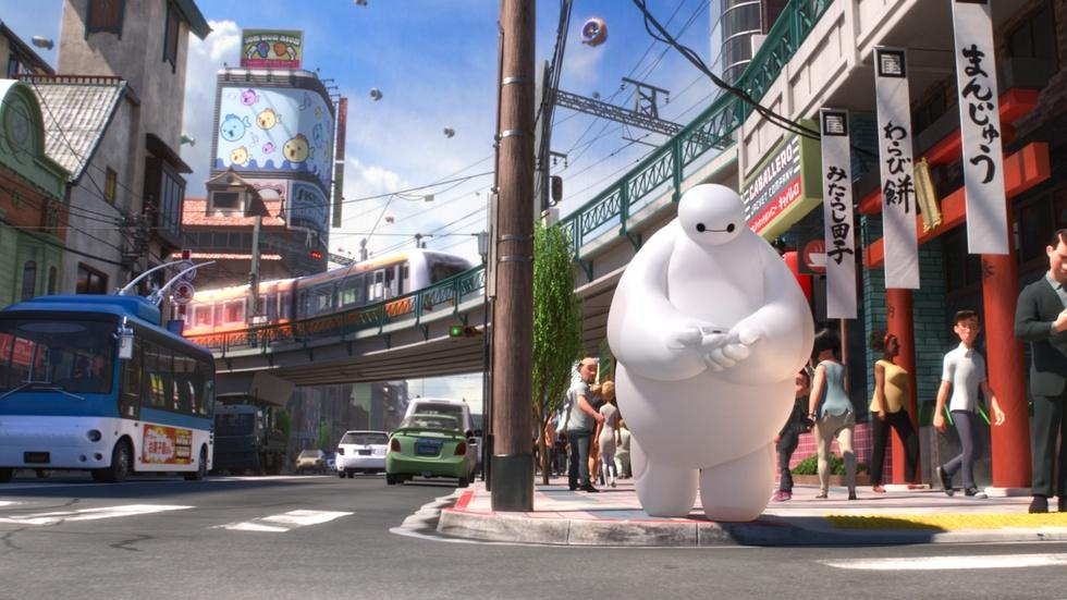 "Ryan Potter and others for ""Big Hero 6"" image"