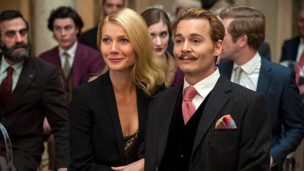 "Johnny Depp and Paul Bettany for ""Mortdecai"" image"