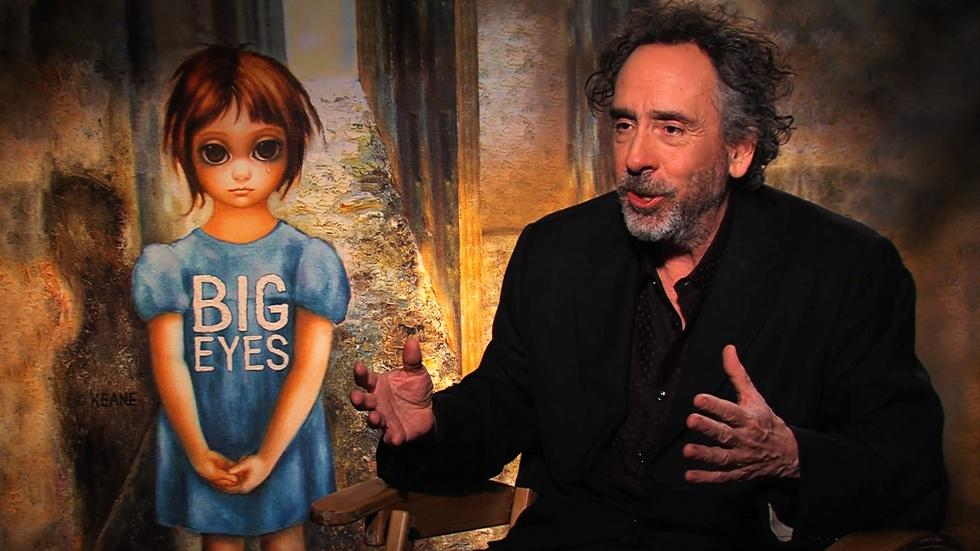 "Tim Burton for ""Big Eyes"" image"
