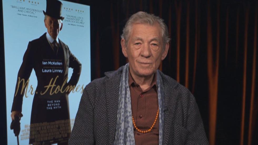 "Ian McKellen for ""Mr. Holmes"" image"