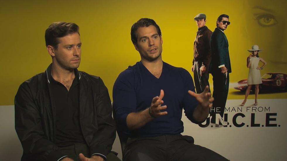 "The Cast of ""The Man from U.N.C.L.E."" image"