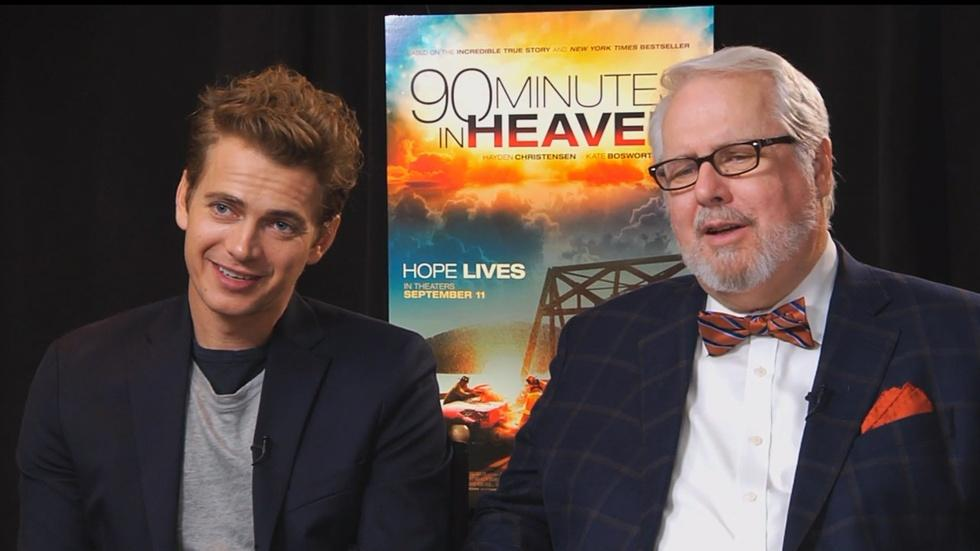 """The Cast of """"90 Minutes in Heaven"""" image"""
