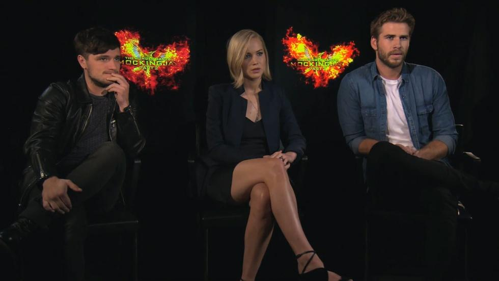 The Cast of 'Hunger Games: Mockingjay Part 2' image
