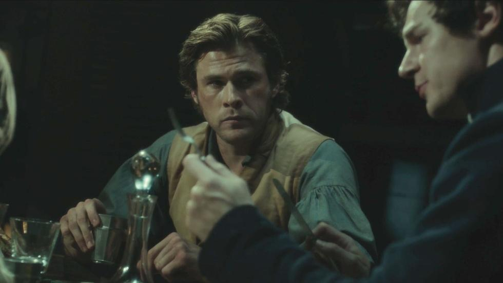 """Ron Howard & Chris Hemsworth for """"In the Heart of the Sea"""" image"""
