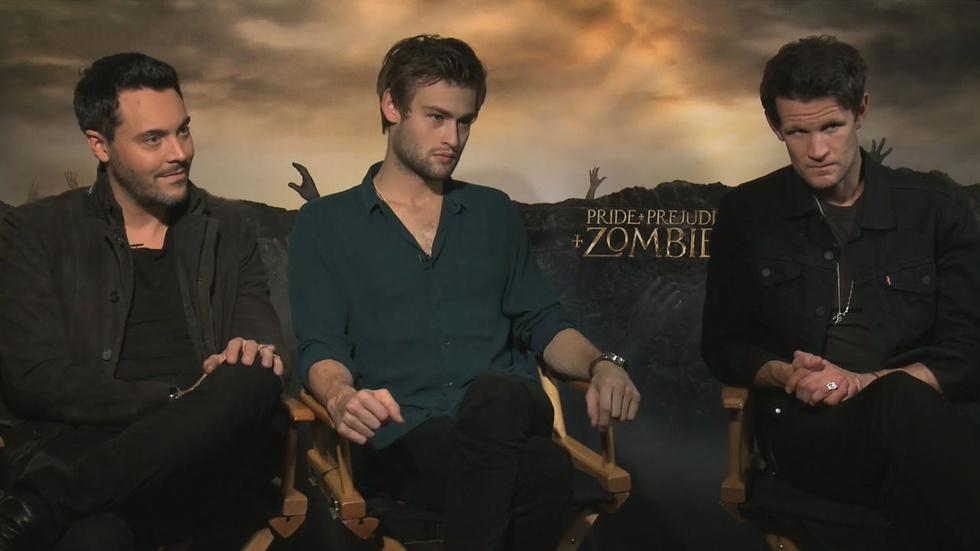 The Cast of Pride & Prejudice & Zombies image