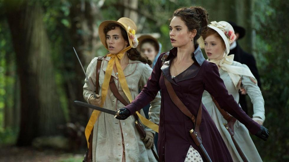 "Lily James for ""Pride & Prejudice & Zombies"" image"