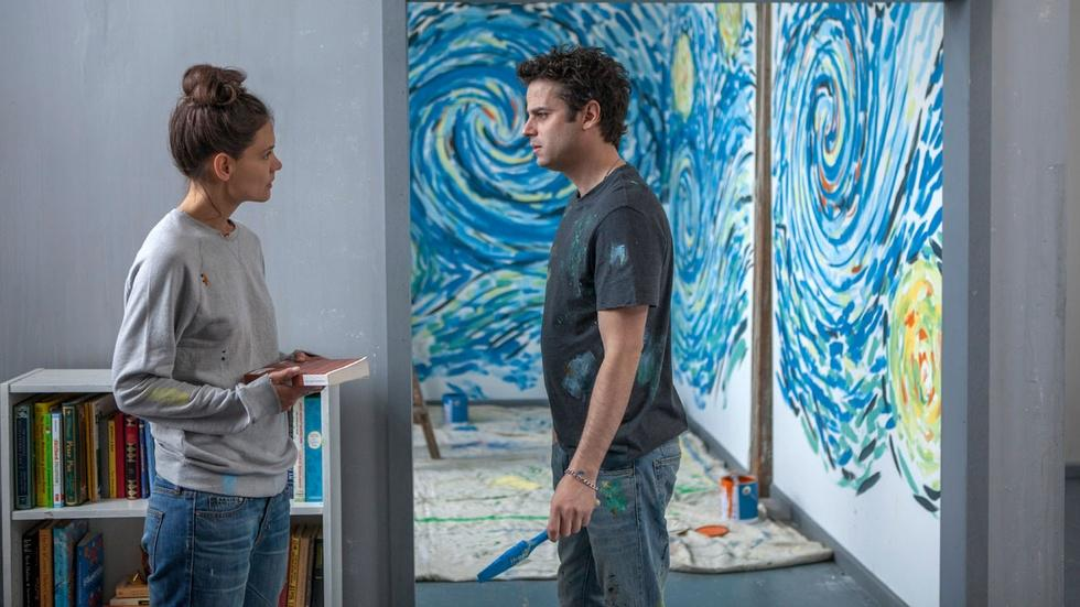 """Katie Holmes and Luke Kirby for """"Touched with Fire"""" image"""