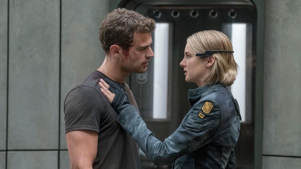 "Shailene Woodley & Theo James for ""Divergent: Allegiant"" image"