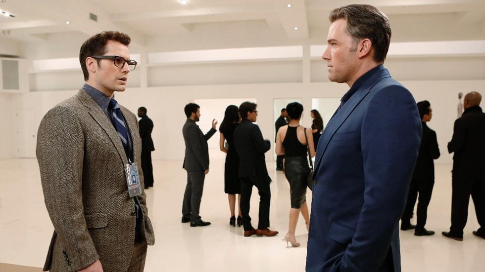 "Ben Affleck and Henry Cavill for ""Batman vs. Superman"" image"