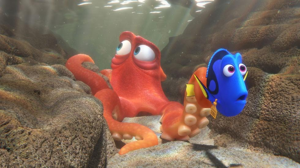 """Ellen DeGeneres & Ed O'Neill for """"FInding Dory"""" image"""