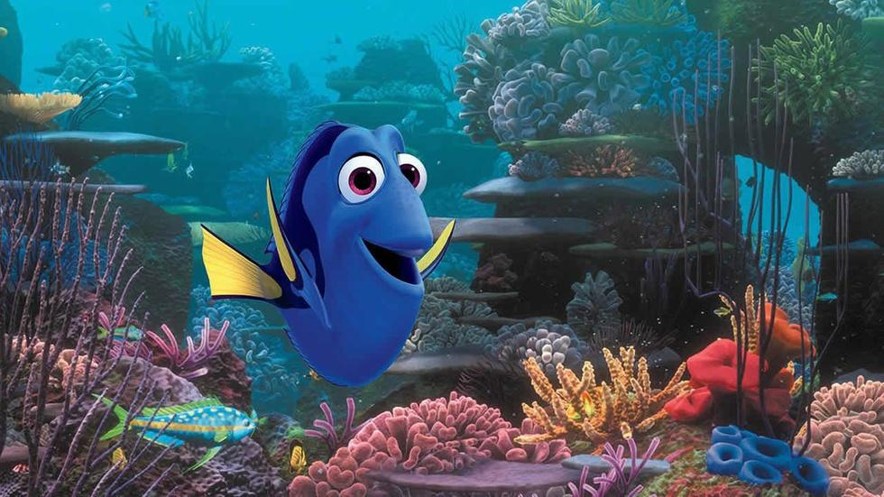 """Ty Burrell and Kaitlin Olson for """"Finding Dory"""" image"""
