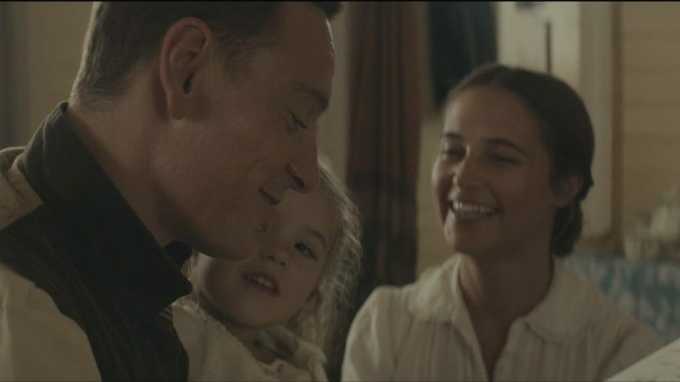 "The stars of ""The Light Between Oceans"" image"