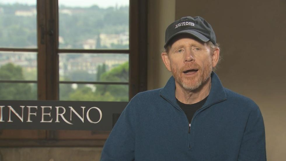 """Ron Howard for """"Inferno"""" image"""