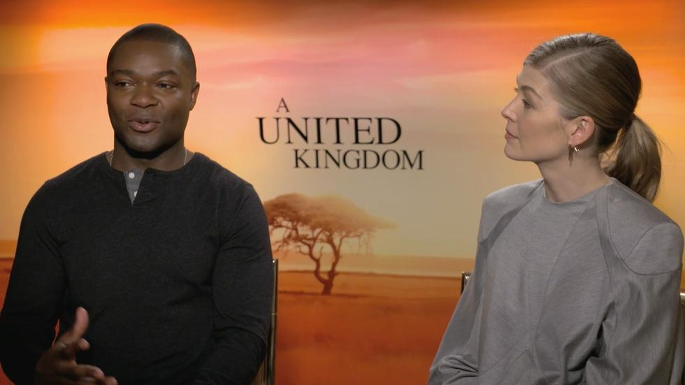 "David Oyelowo & Rosamund Pike for ""A United Kingdom"" image"