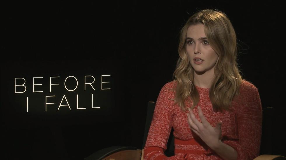 "Zoey Deutch for ""Before I Fall"" image"