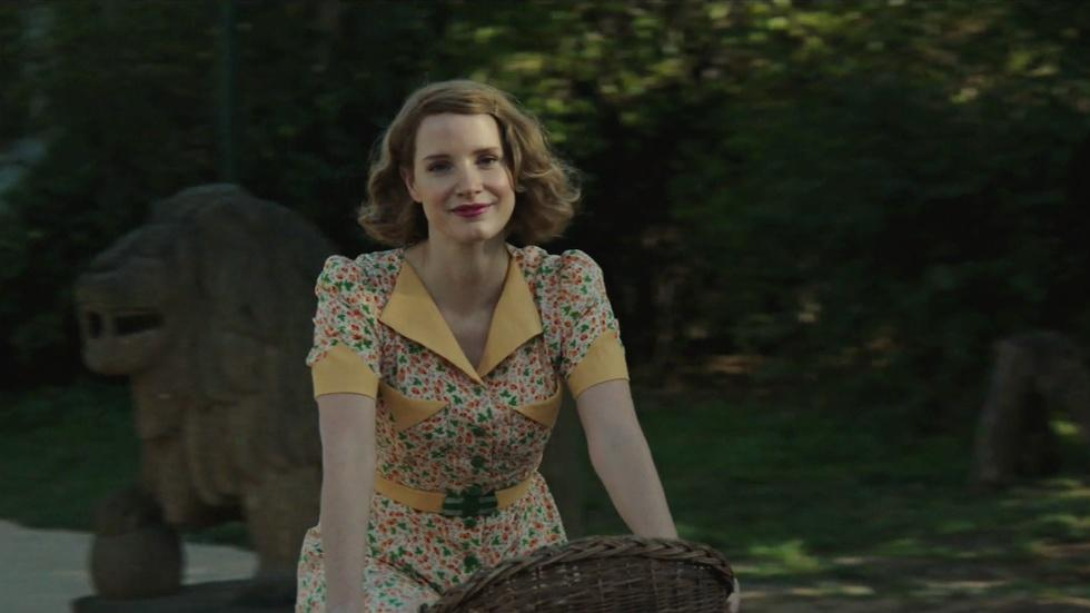 """Jessica Chastain for """"The Zookeeper's Wife"""" image"""