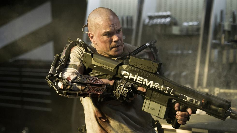 """Matt Damon for """"Elysium"""" image"""