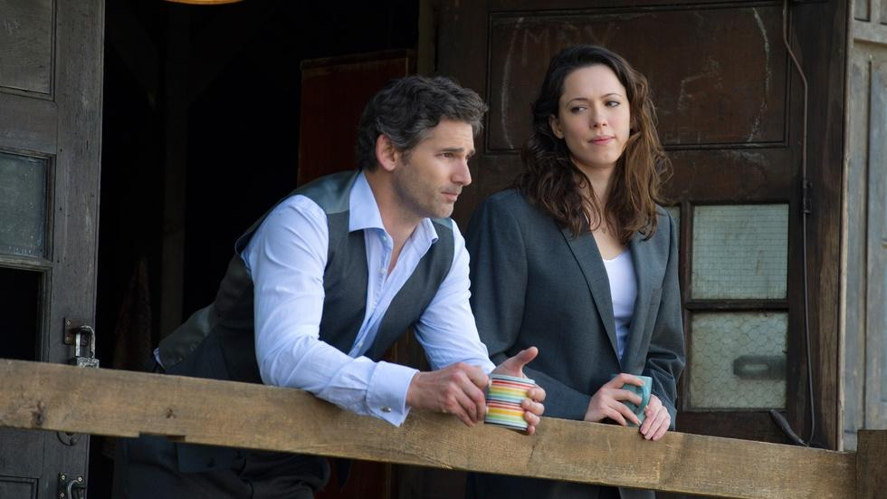 """Eric Bana and Rebecca Hall for """"Closed Circuit"""" image"""