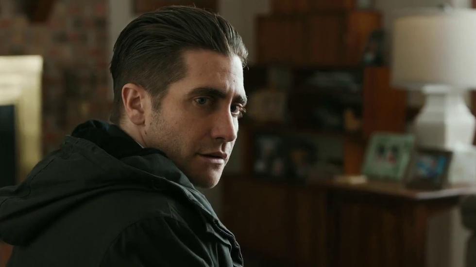 "Hugh Jackman and Jake Gyllenhaal for ""Prisoners"" image"
