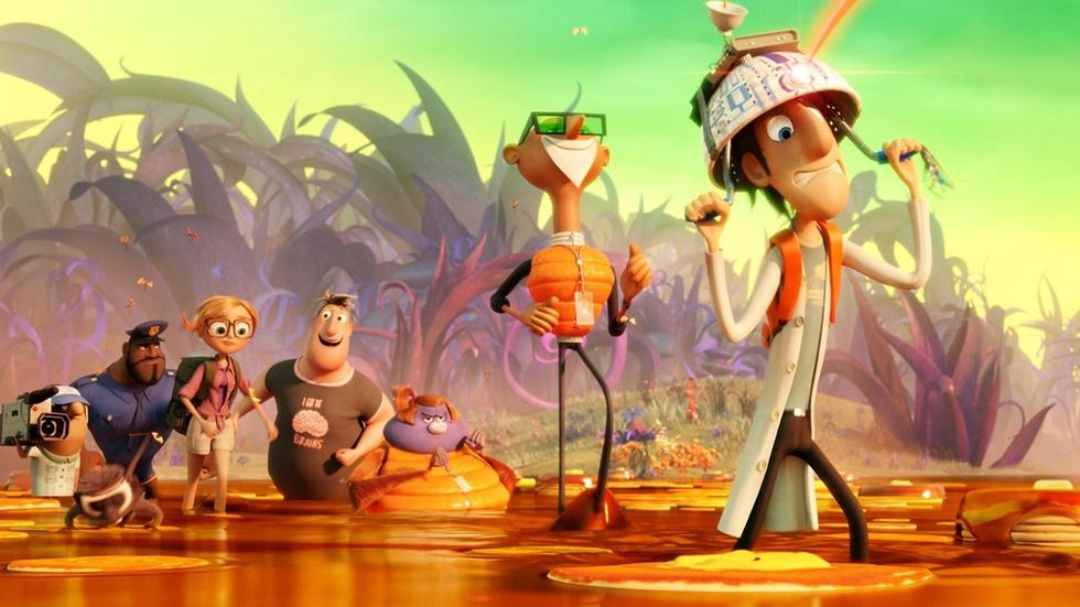"""The stars of """"Cloudy with a Chance of Meatballs 2"""" image"""