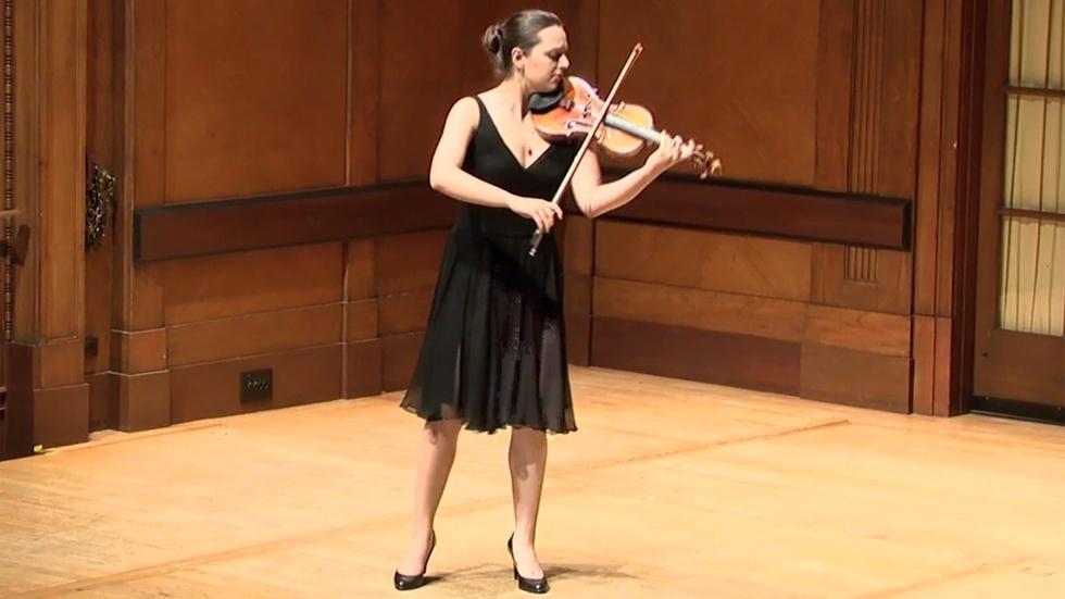 Bach's Sonatas and Partitas for Solo Violin image